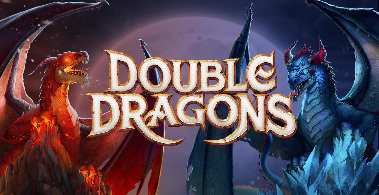 Double Dragons Online Slots Logo