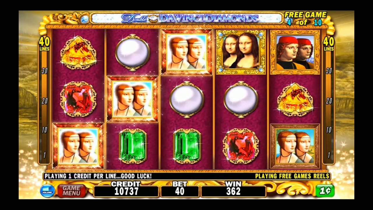 Double Da Vinci Diamonds Slots