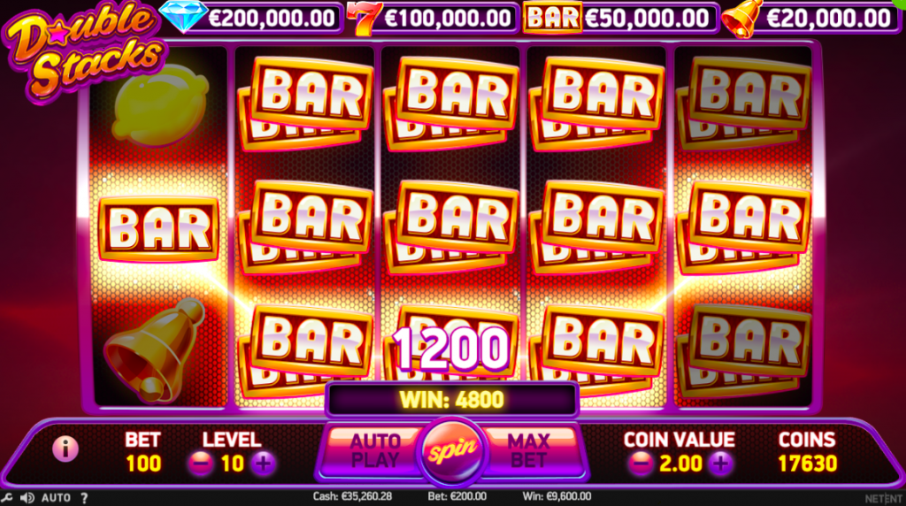 Double Stacks Slots Game