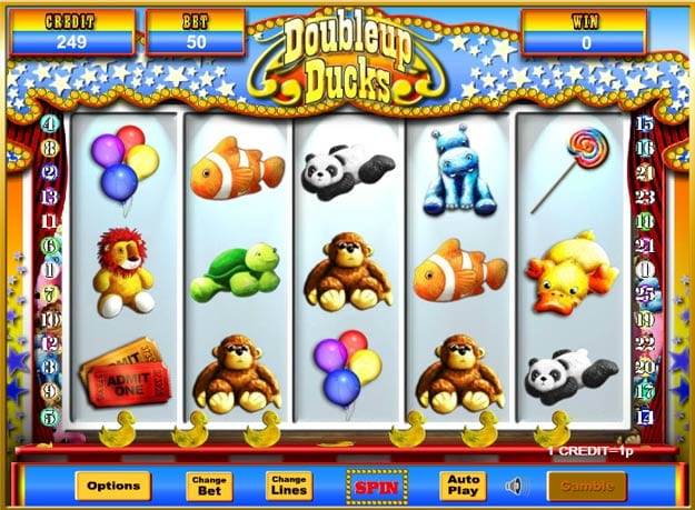 Doubleup Ducks Jackpot Gameplay