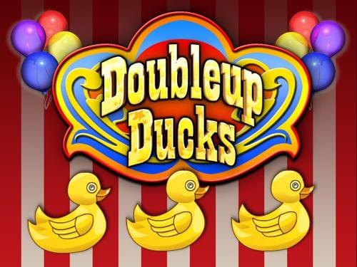 Doubleup Ducks online slots game logo