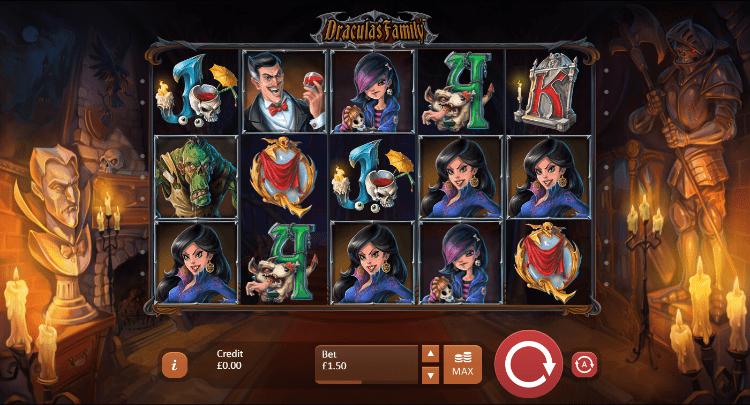 Dracula's Family Slots Wizard Slots