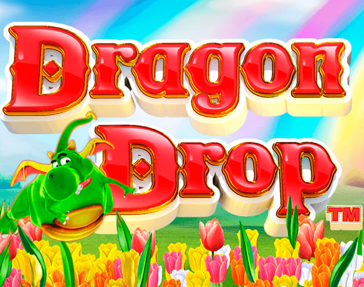 Dragon Drop online slots game logo