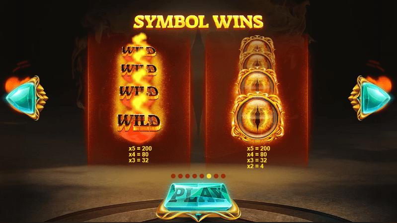 Dragons Fire Symbols