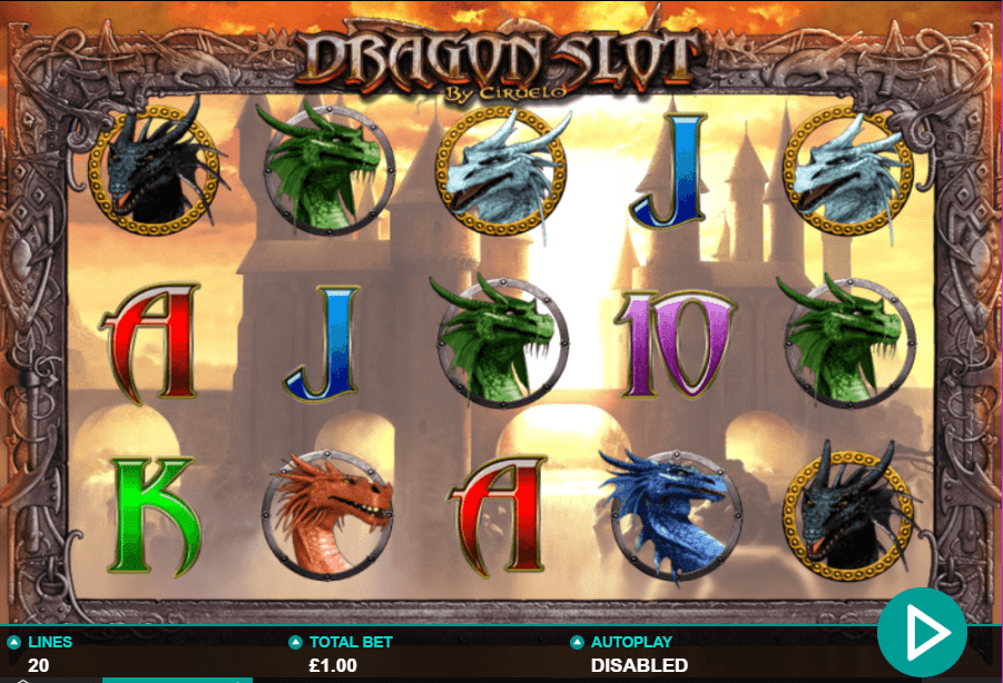 Dragon Slot Gameplay