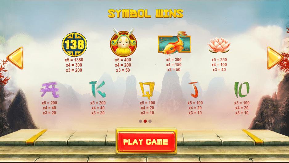 Dragons Luck Symbols