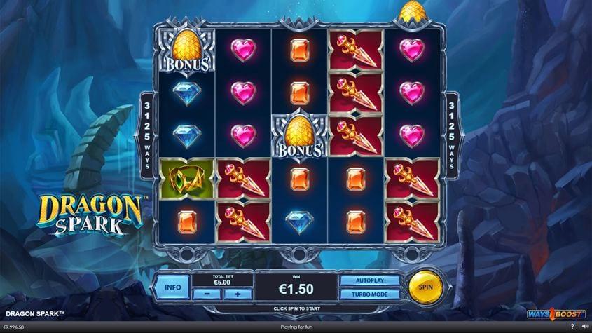 Dragon Spark Ways Boost Slot Gameplay