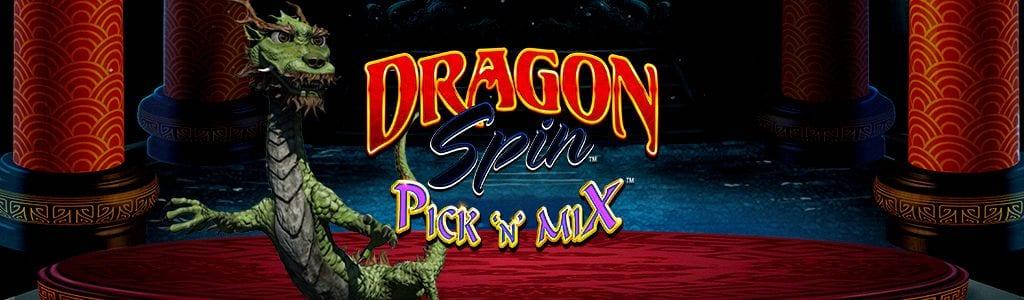 Dragon Spin Pick N Mix Slot Logo Wizard Slots