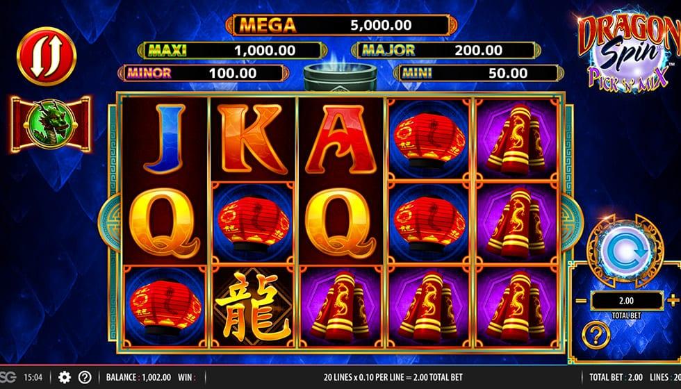 Dragon Spin Pick N Mix Slot Gameplay