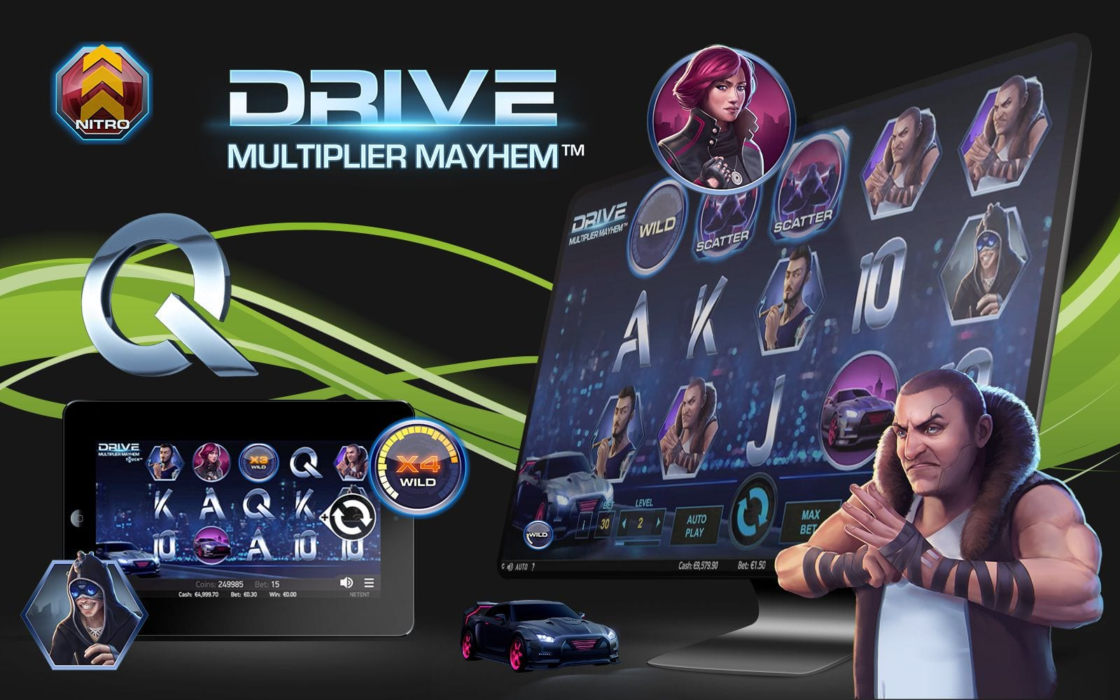 Drive: Multiplier Mayhem Accesibility