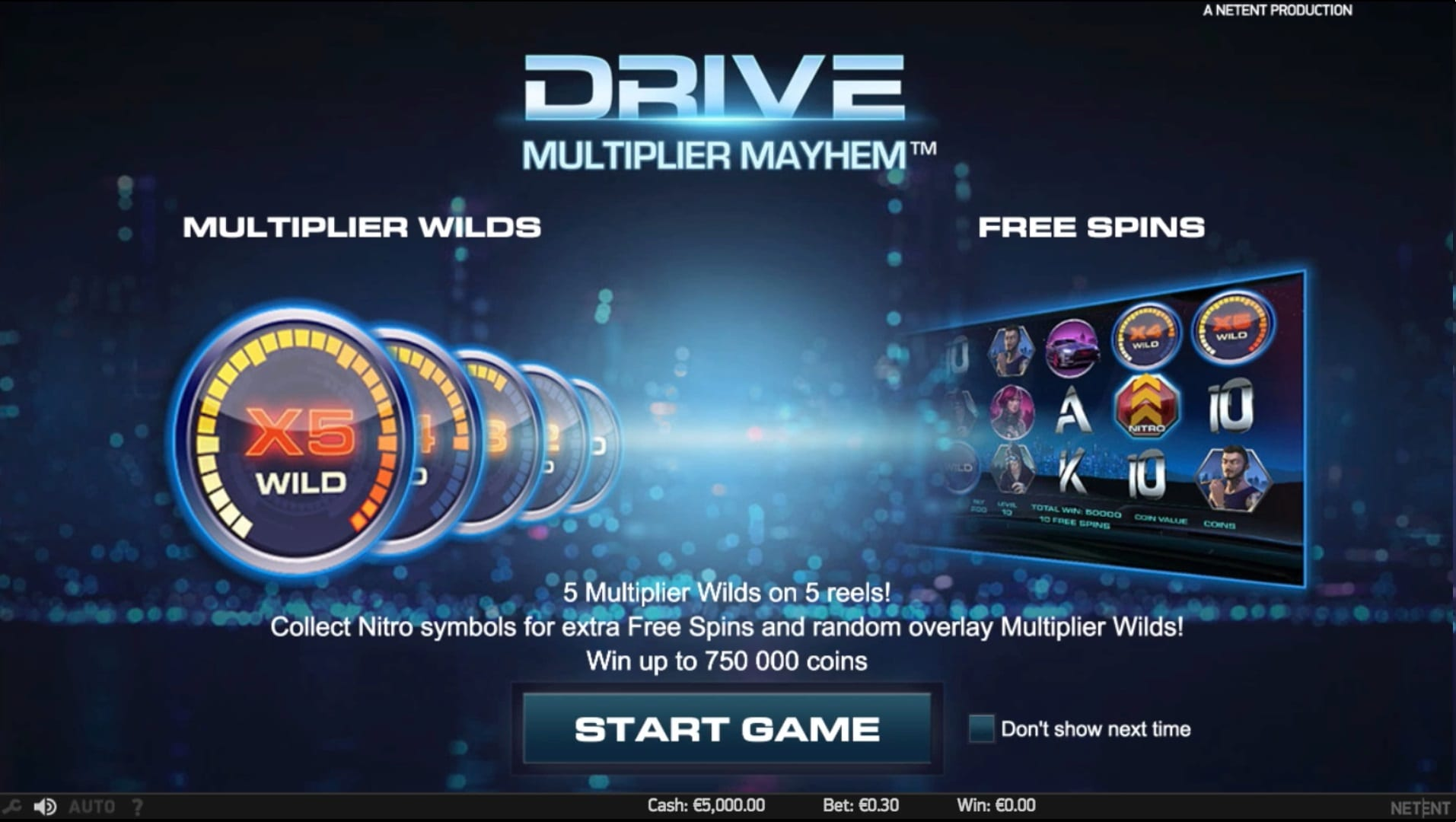 Drive: Multiplier Mayhem Wilds