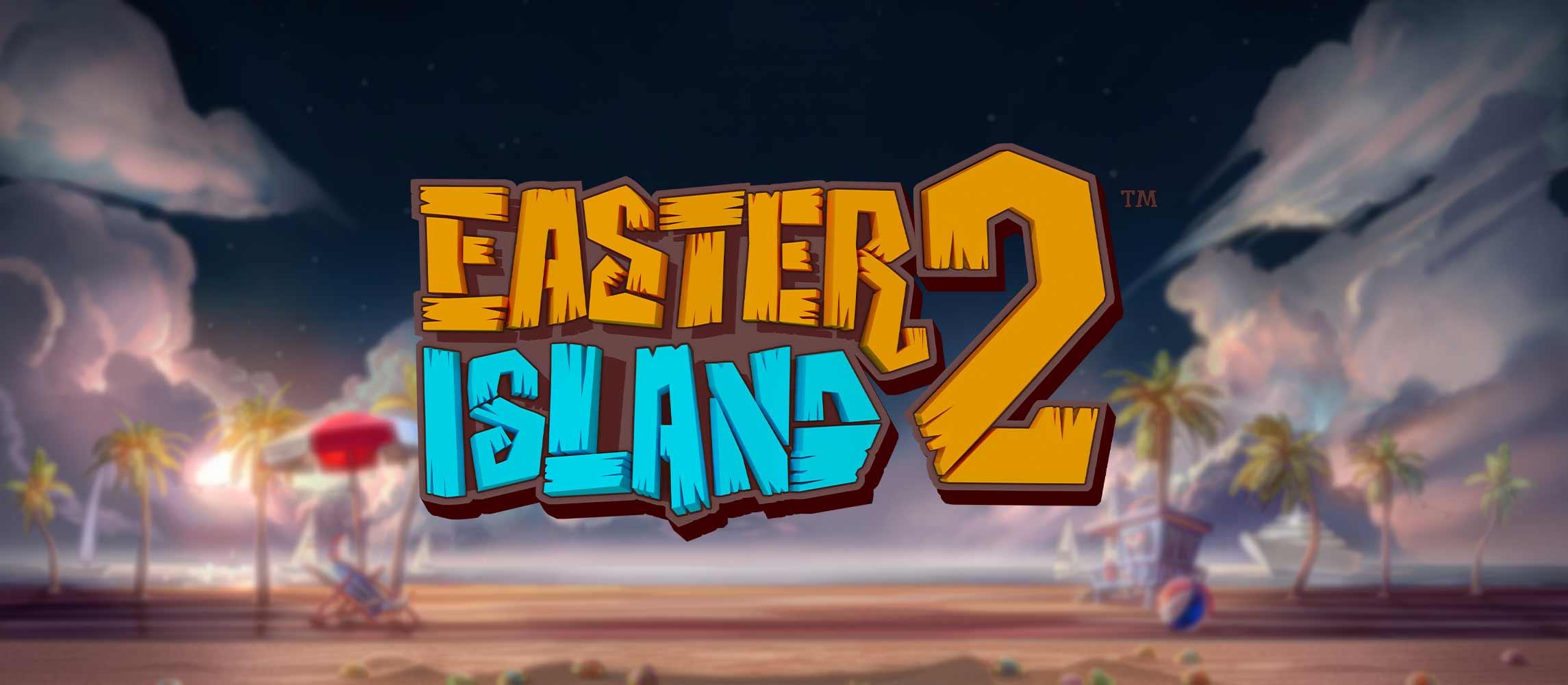 Easter Island 2 Slot Logo Wizard Slots