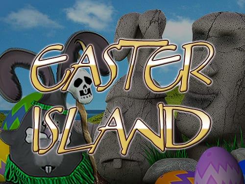 Easter Island online slots game logo