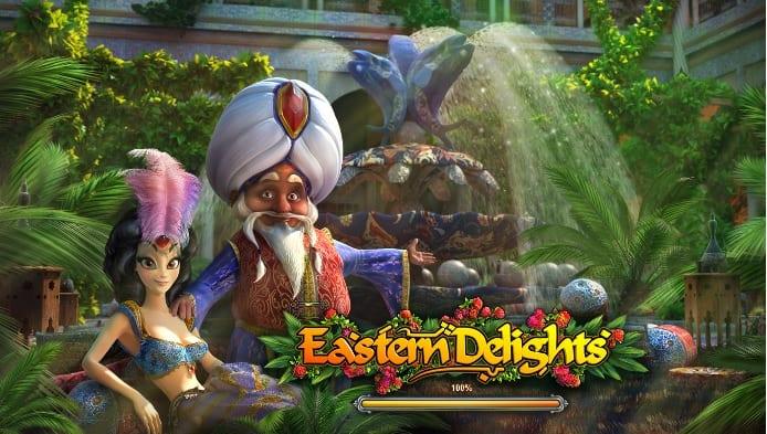 Eastern Delights online slots logo