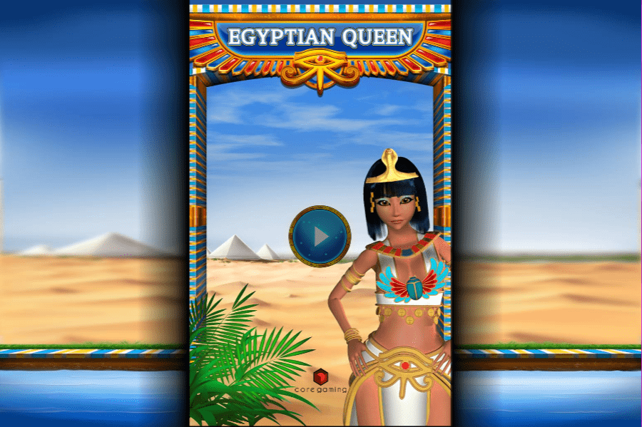 Egyptian Queen Logo