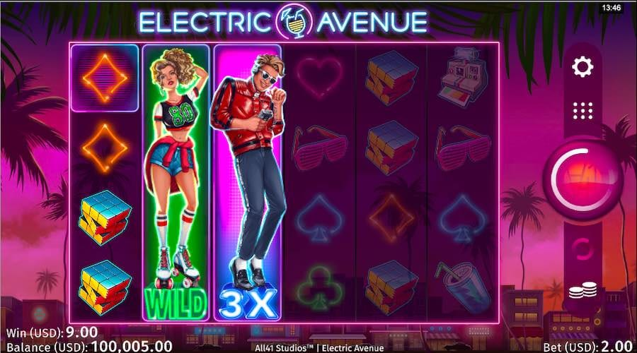 Electric Avenue Free Slots