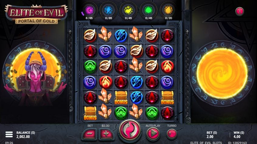 Elite of Evil Slot Game