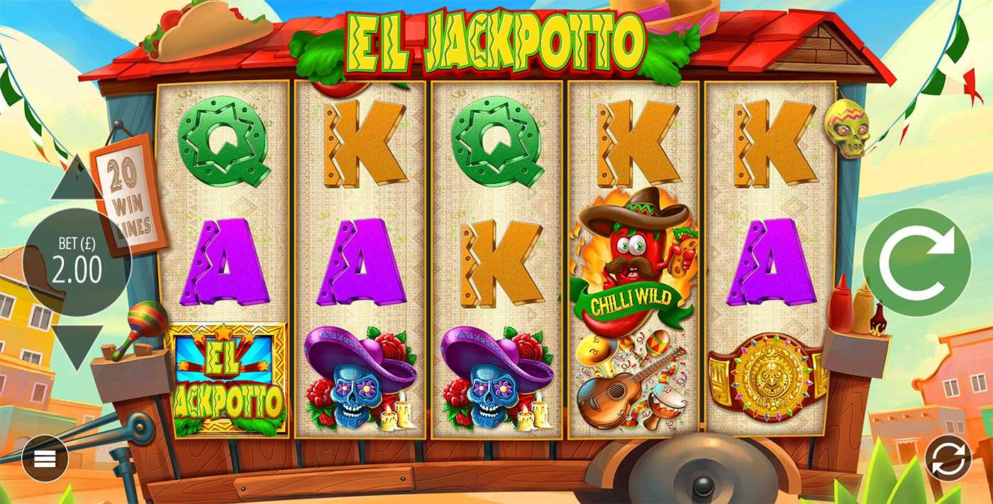 El Jackpotto Slots Wizard Slots
