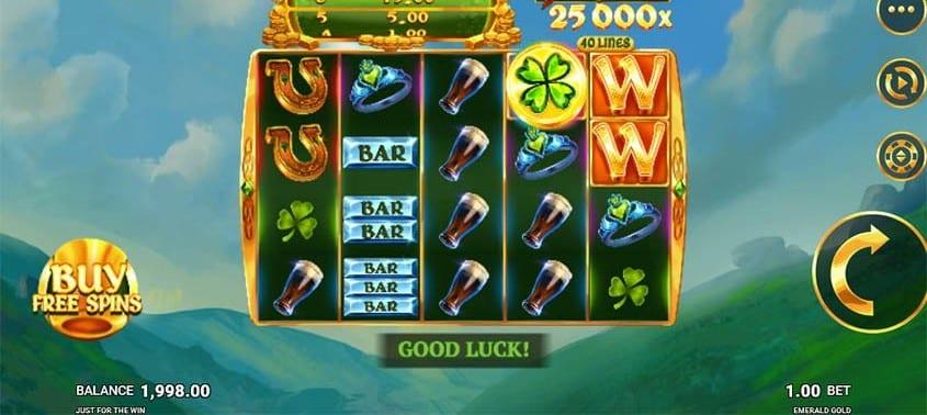 Emerald Gold Slots Online
