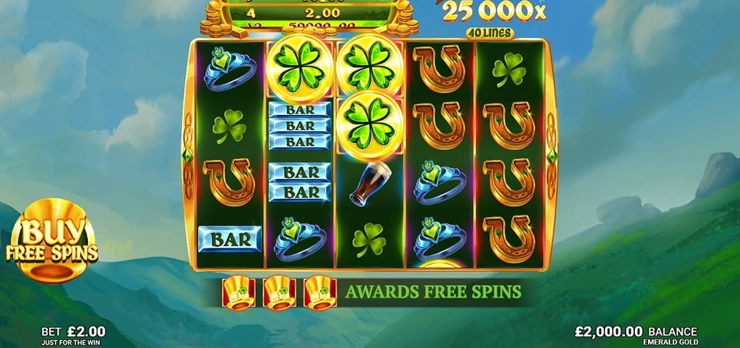 Emerald Gold Slot Gameplay