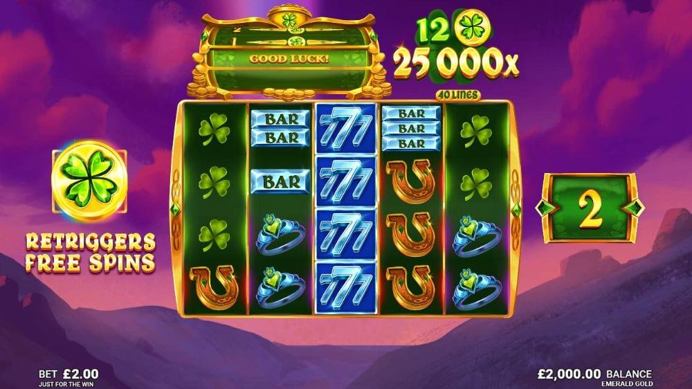 Emerald Gold Slots Reels