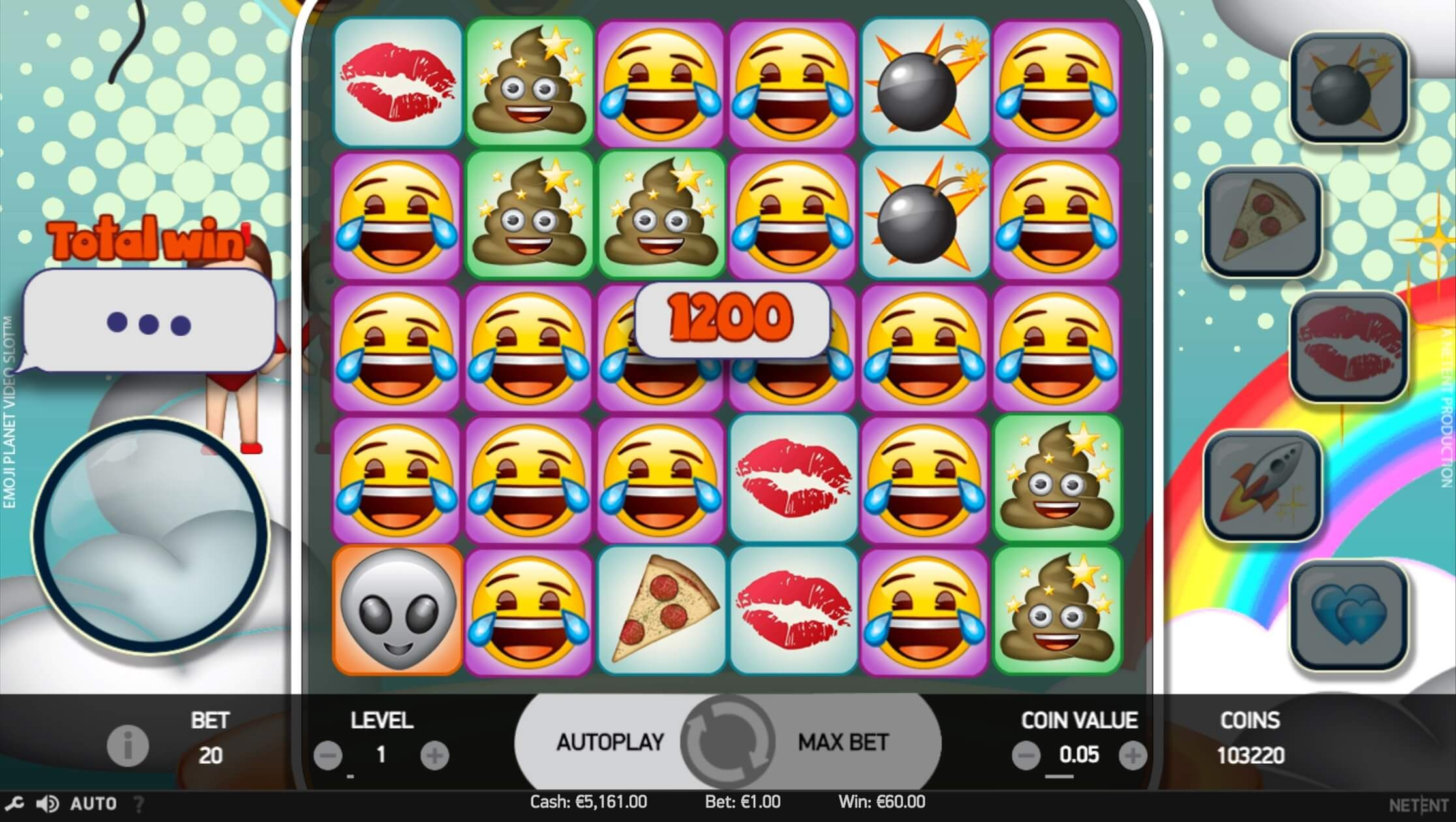 Emoji Planet Online Slots