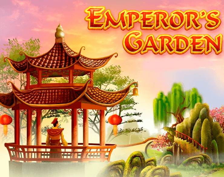Emperors Garden online slots game logo