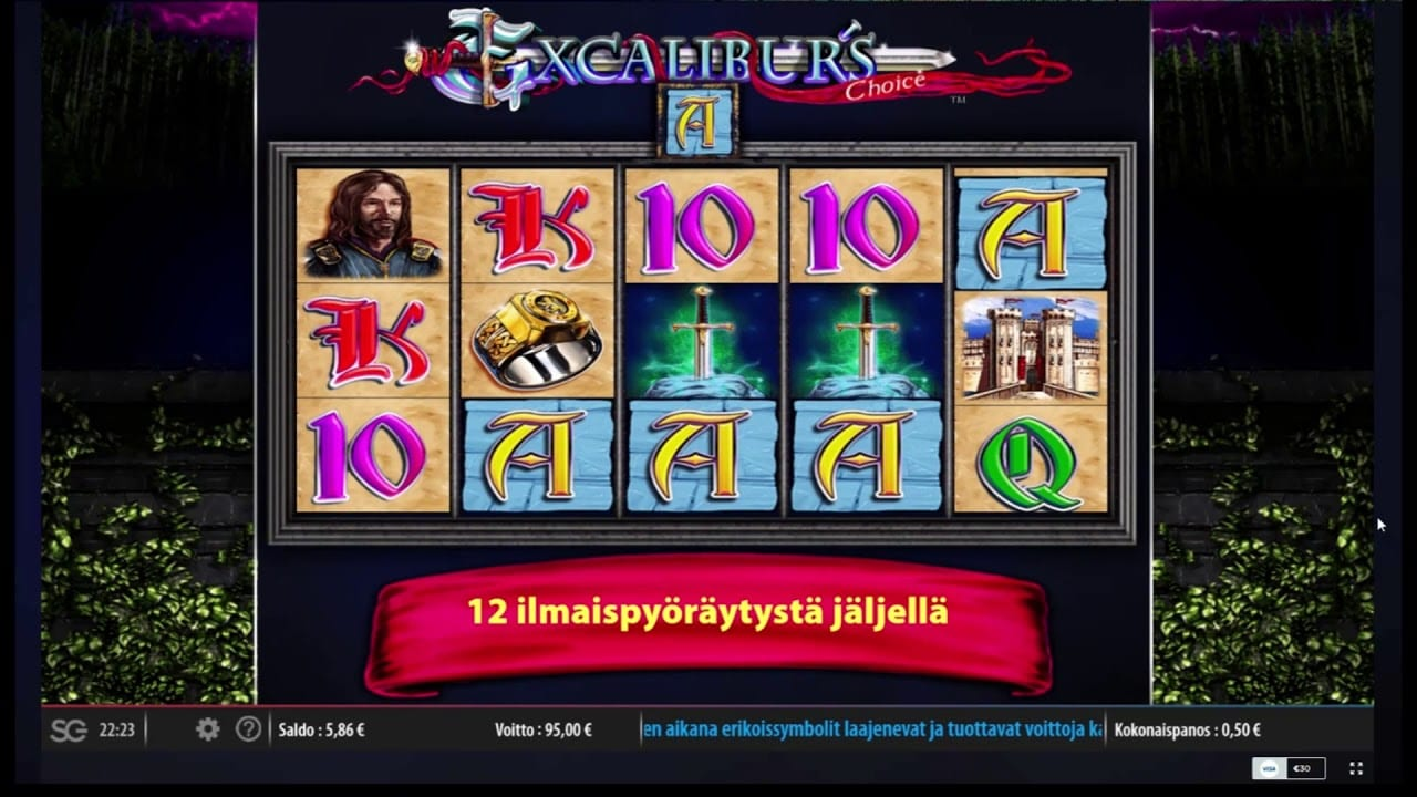 Excalibur's Choice Slots Game