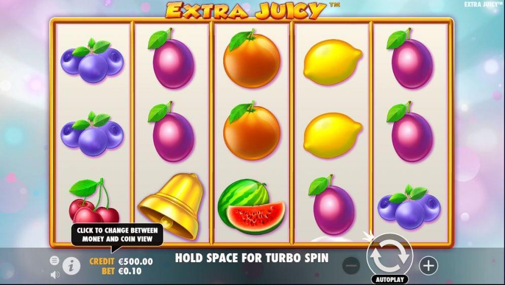 Extra Juicy Slots Game