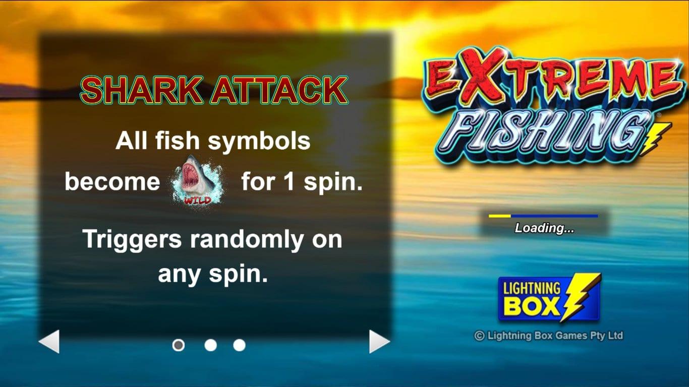 Extreme Fishing Slot Info