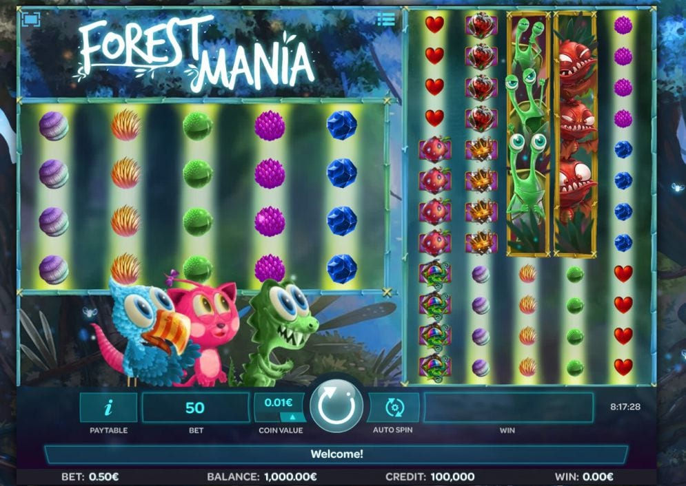 Forest Mania slots gameplay
