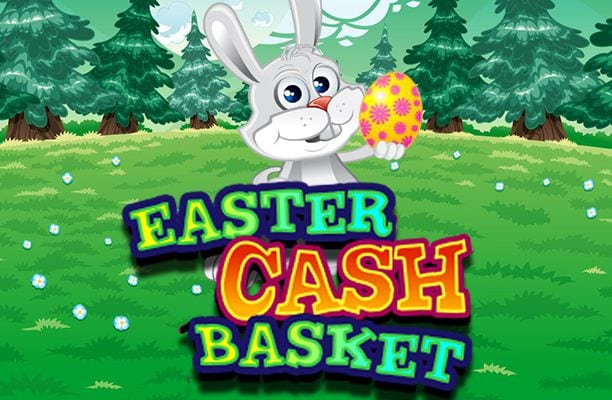 Easter Cash Baskets online slots game logo