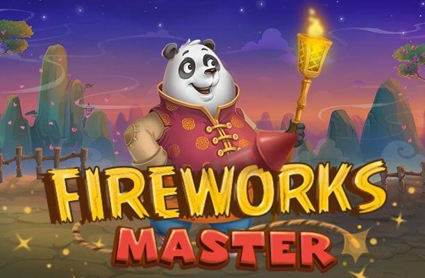 Fireworks online slots game logo