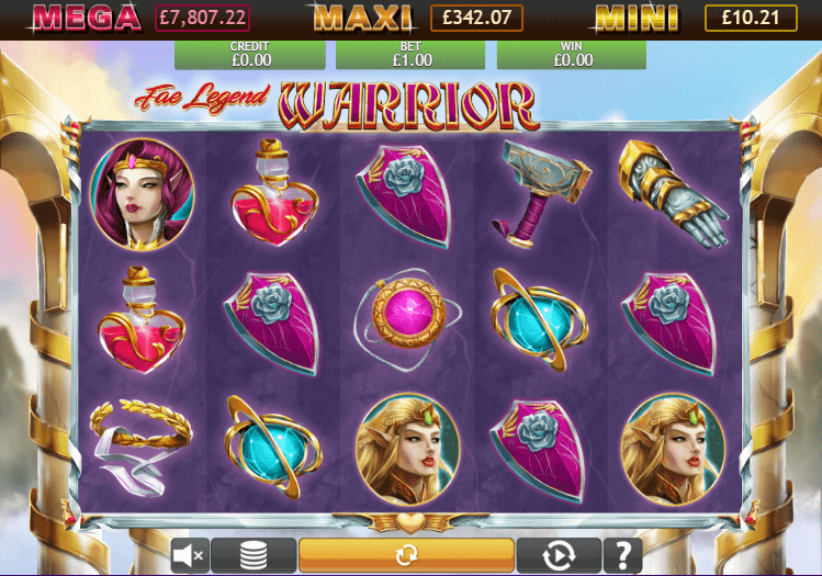 Fae Legend Warrior Jackpot Slot Games