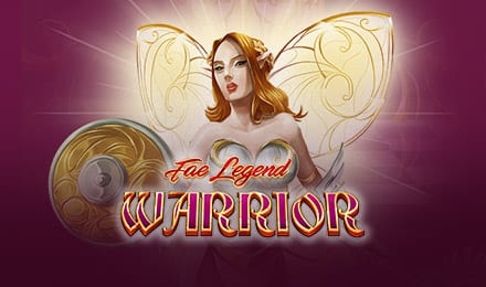 FAE Legend Warrior Jackpot Slots game logo