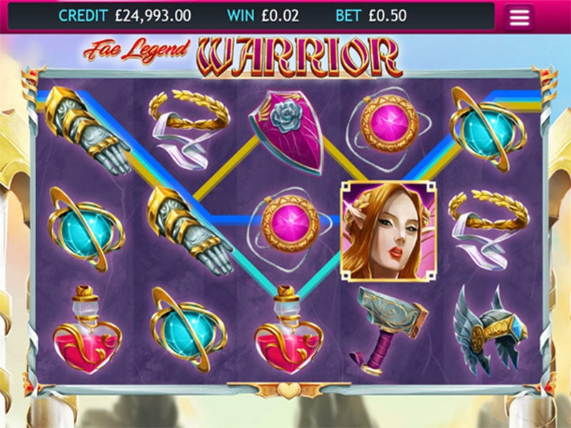Fae Legend Warrior Jackpot Gameplay 2