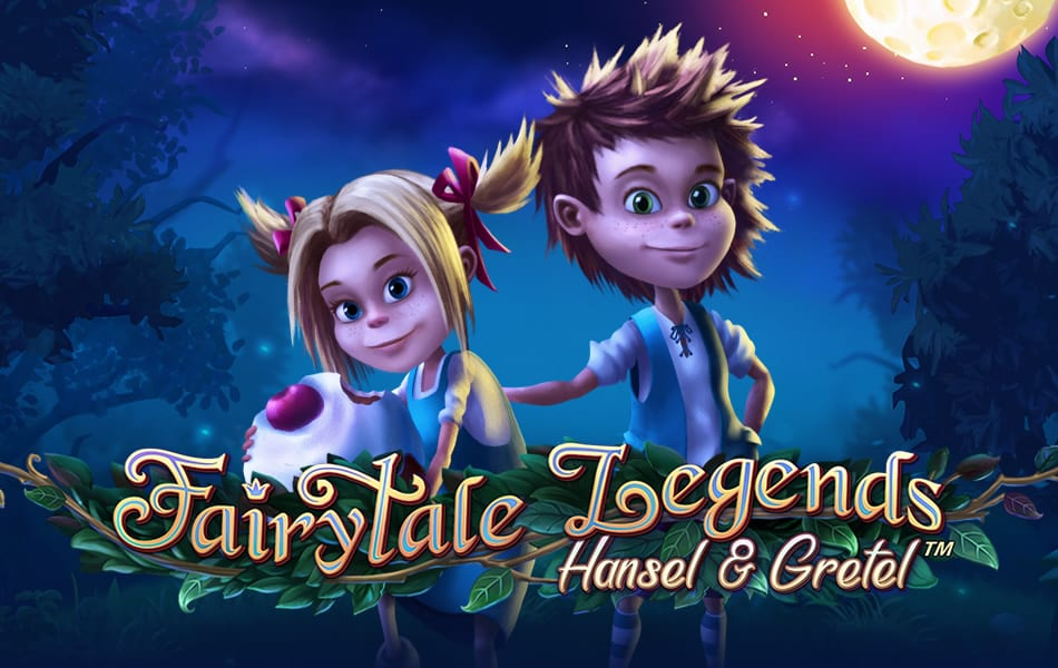Fairytale Legends : Hansel and Gretel online slots game logo