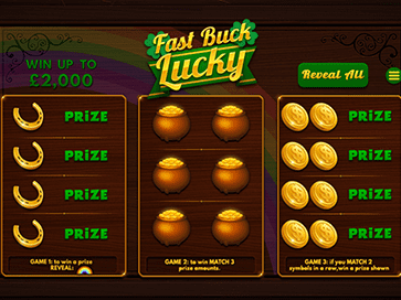 Fast Buck Lucky game screen