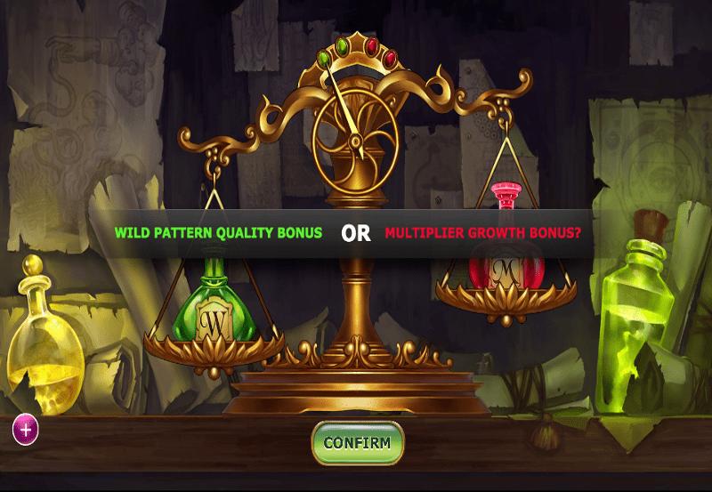 Alchymedes online slots game info