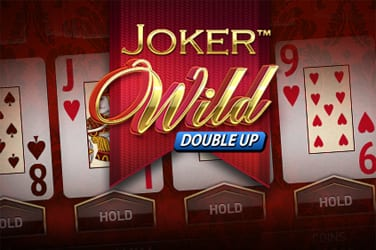 Joker Wild Double Up online slots game logo