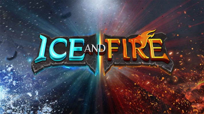 Ice and Fire Slot Wizard Slots