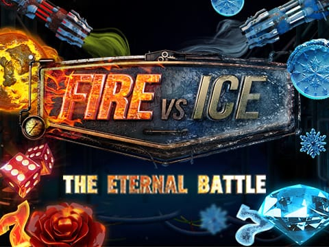Fire vs Ice online slots game logo