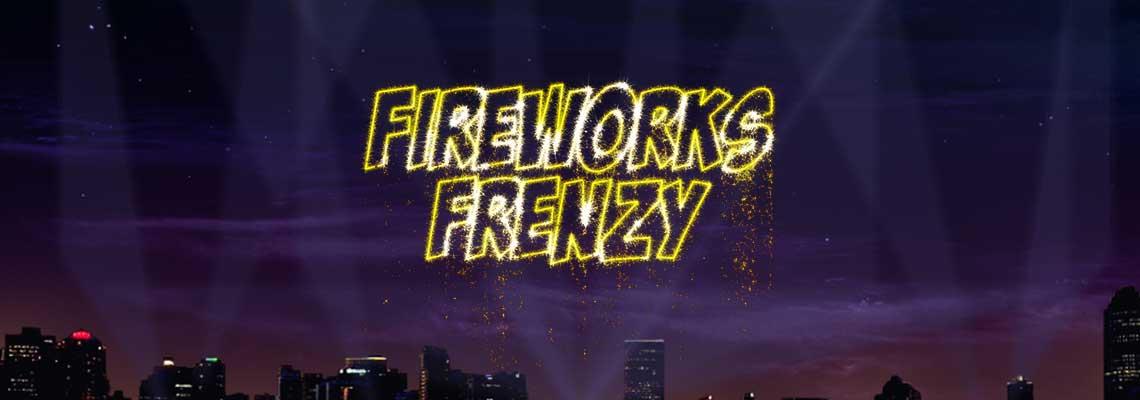Fireworks Frenzy online slots game logo