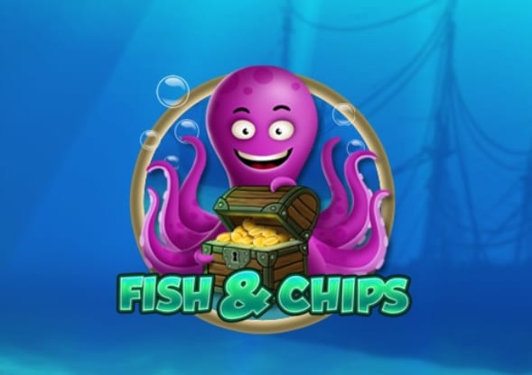 Fish and Chips online slots game logo