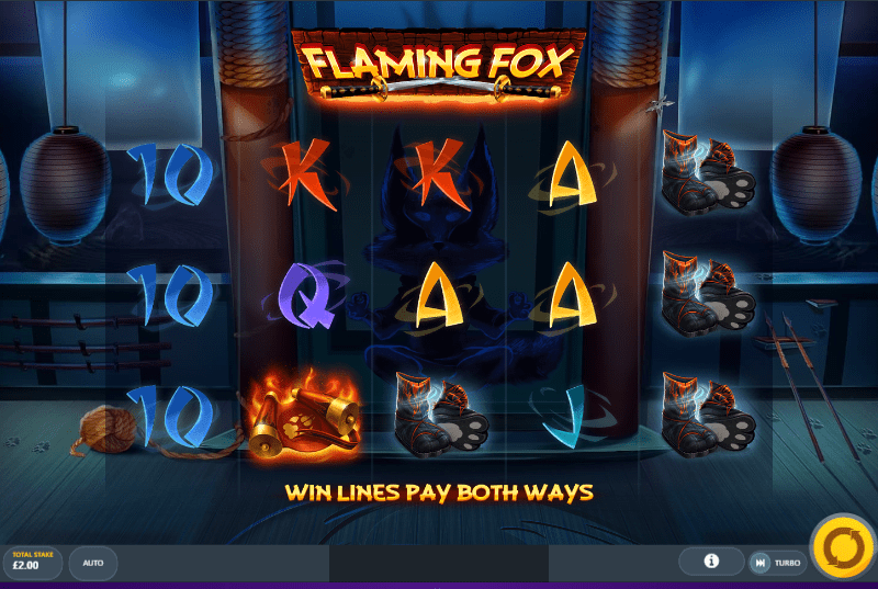 Flaming Fox Gameplay