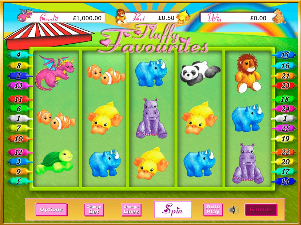 fluffy favourites Slots Online