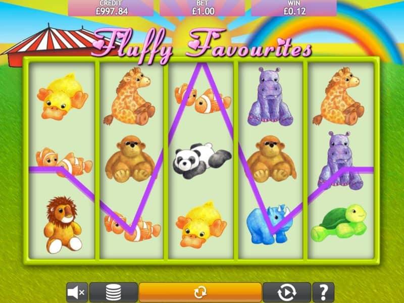 Fluffy Favourites Jackpot Slot