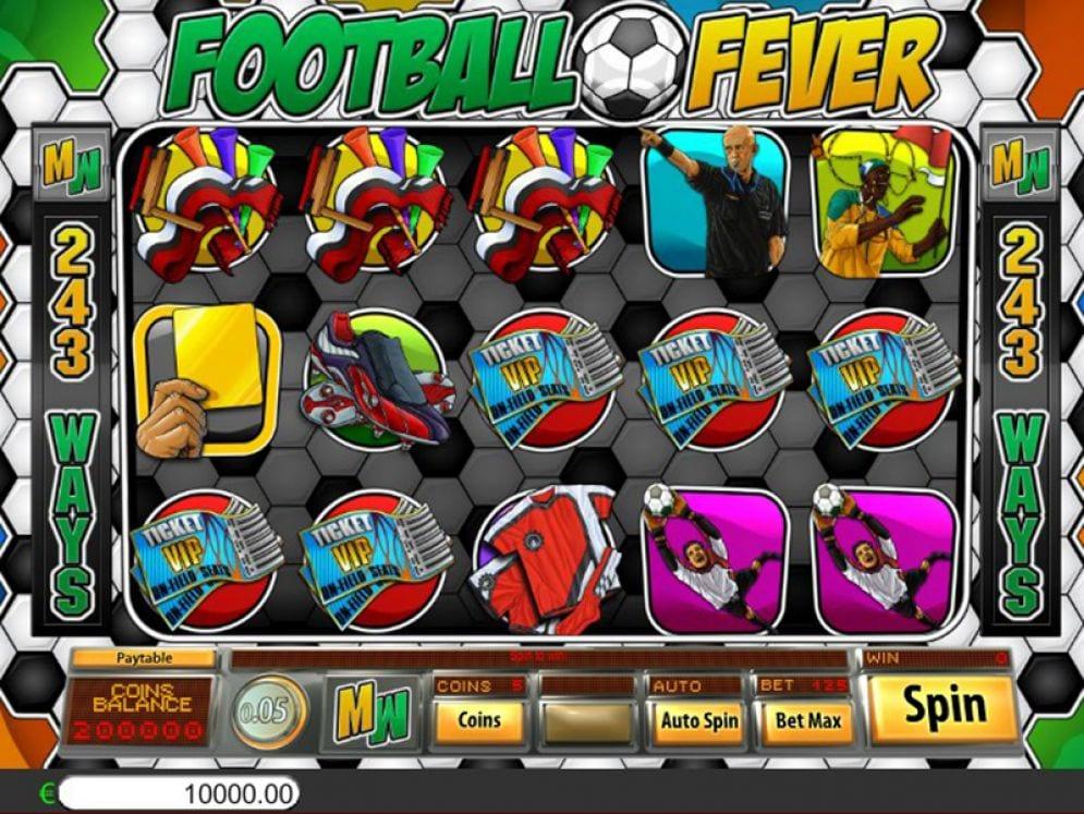 Football Fever Slots UK
