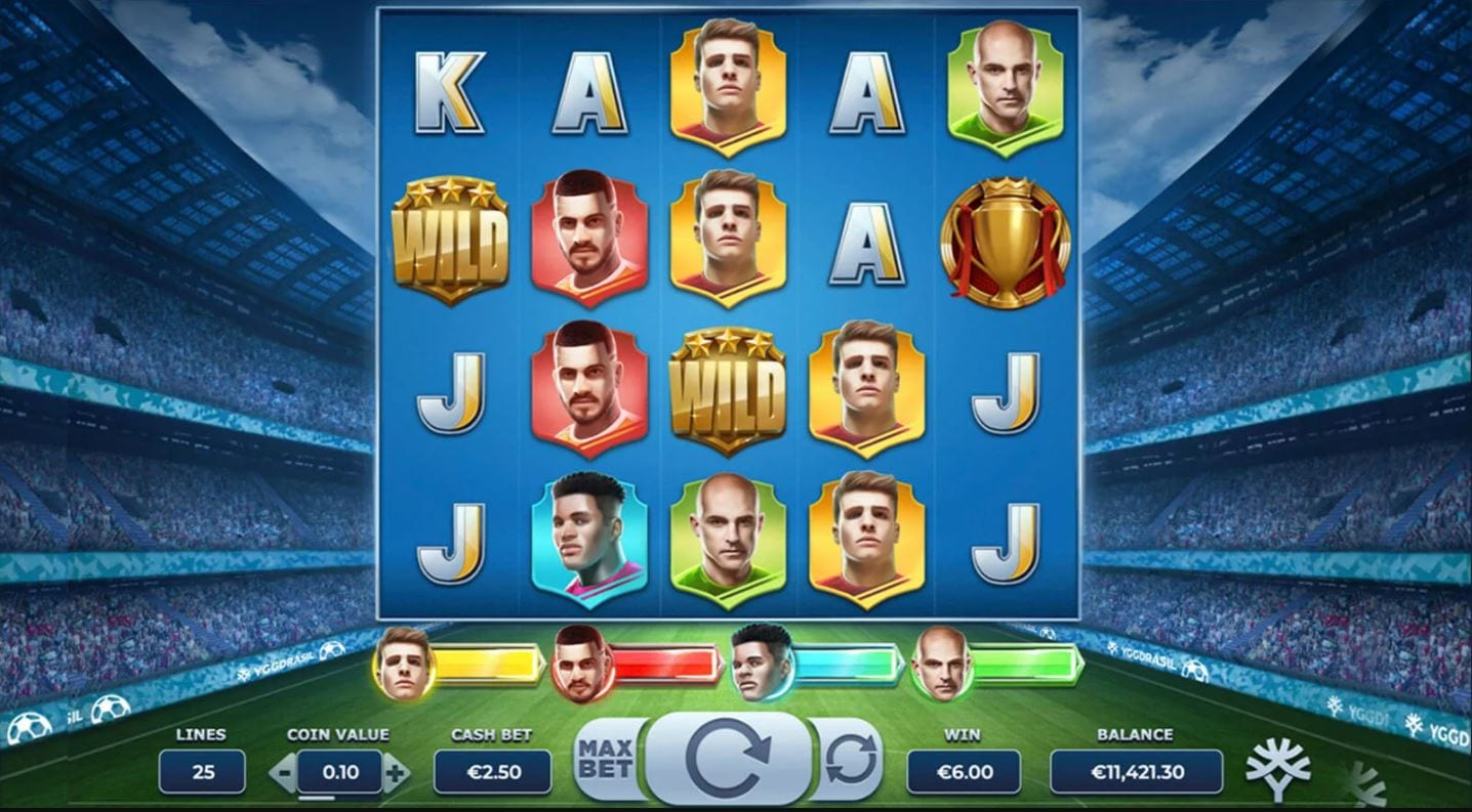 Football Glory Slot Game