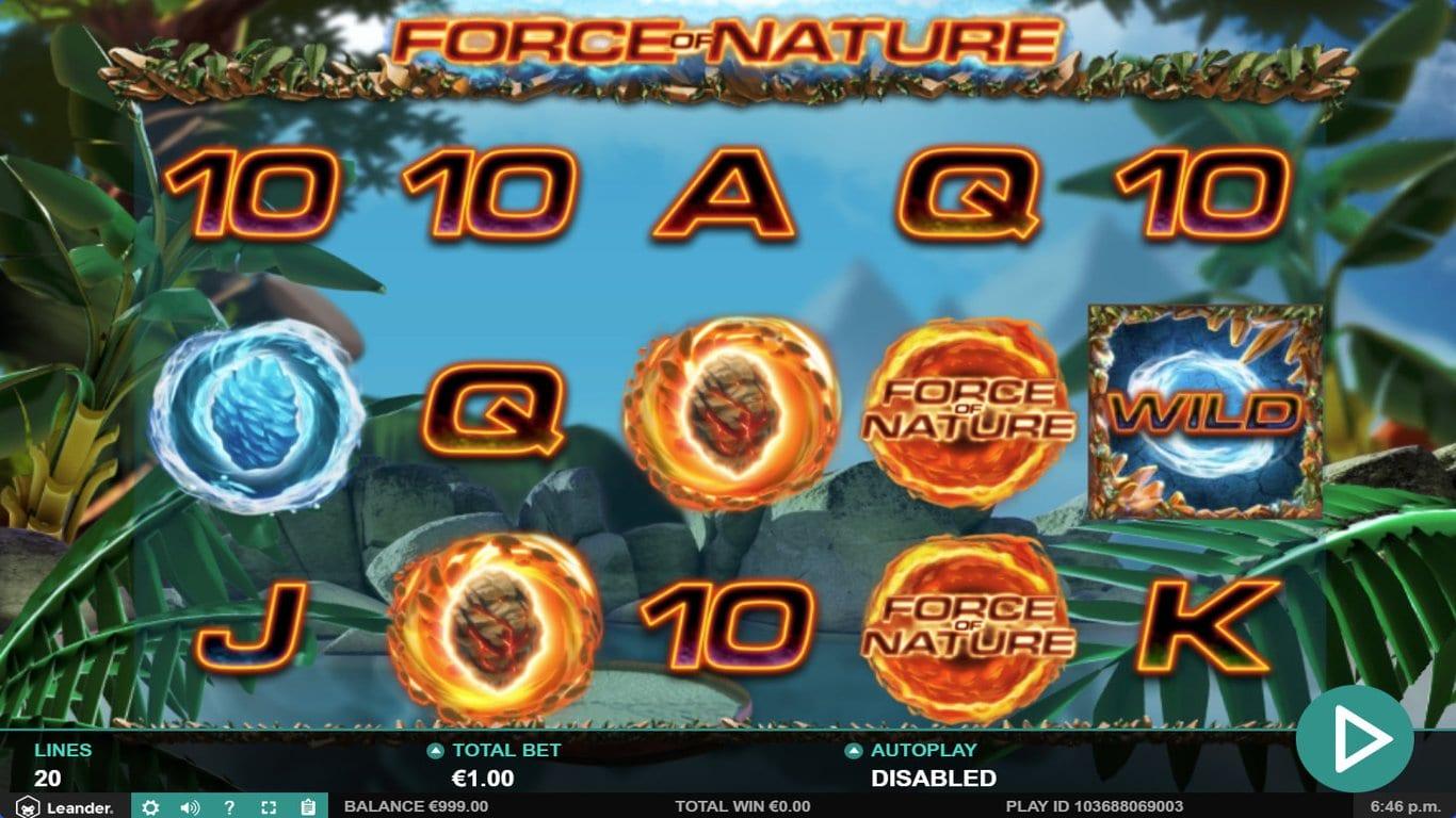 Force of Nature Slot Gamrplay Wizard Slots